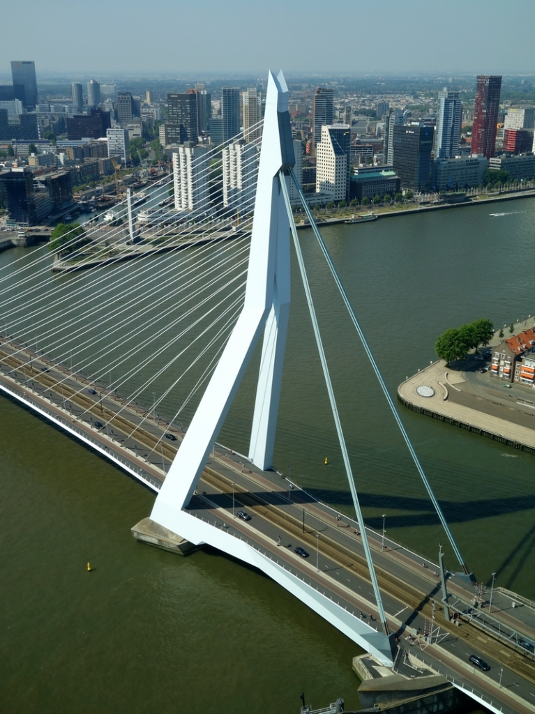 """Top floor view 'The Rotterdam"""""""