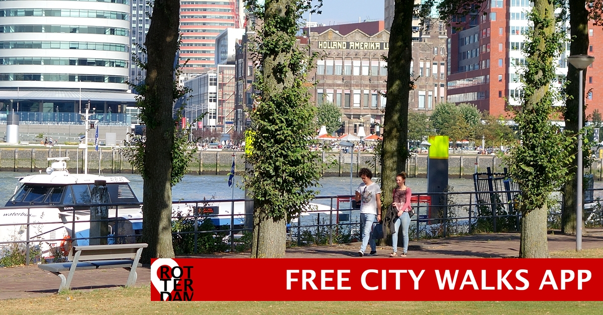 Rotterdam Routes App free city walks