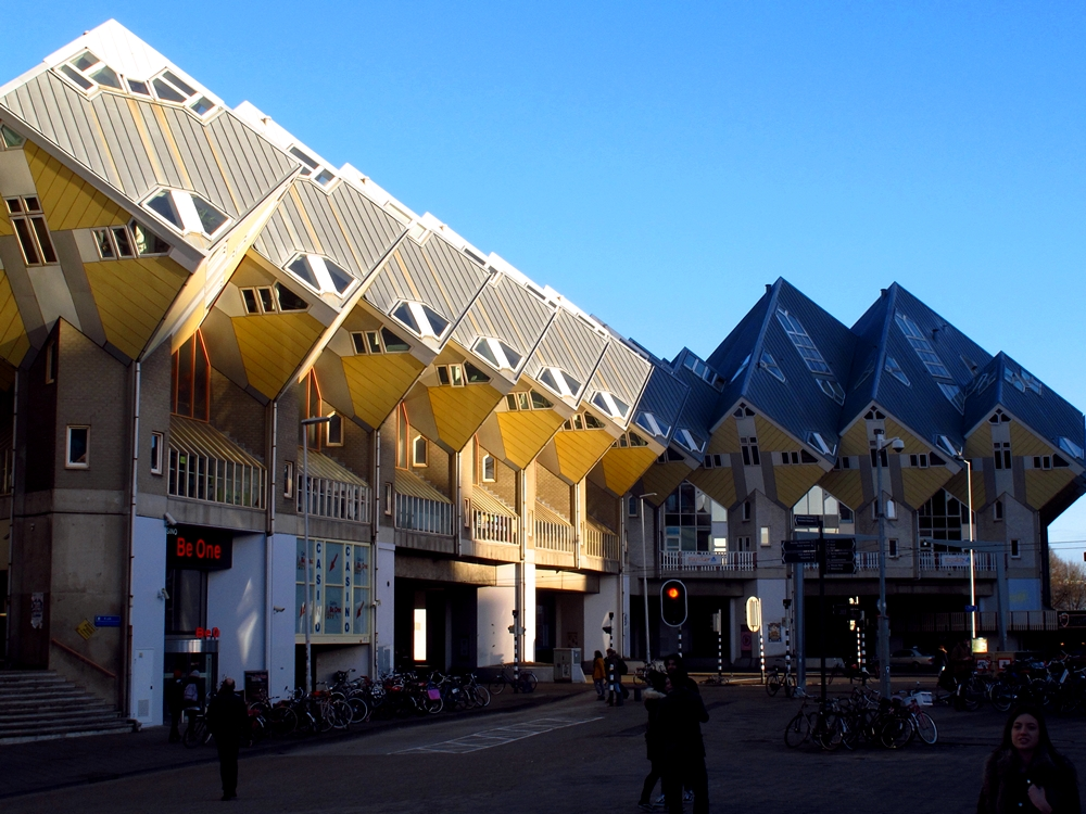 Cube houses Blaakse Bos Rotterdam