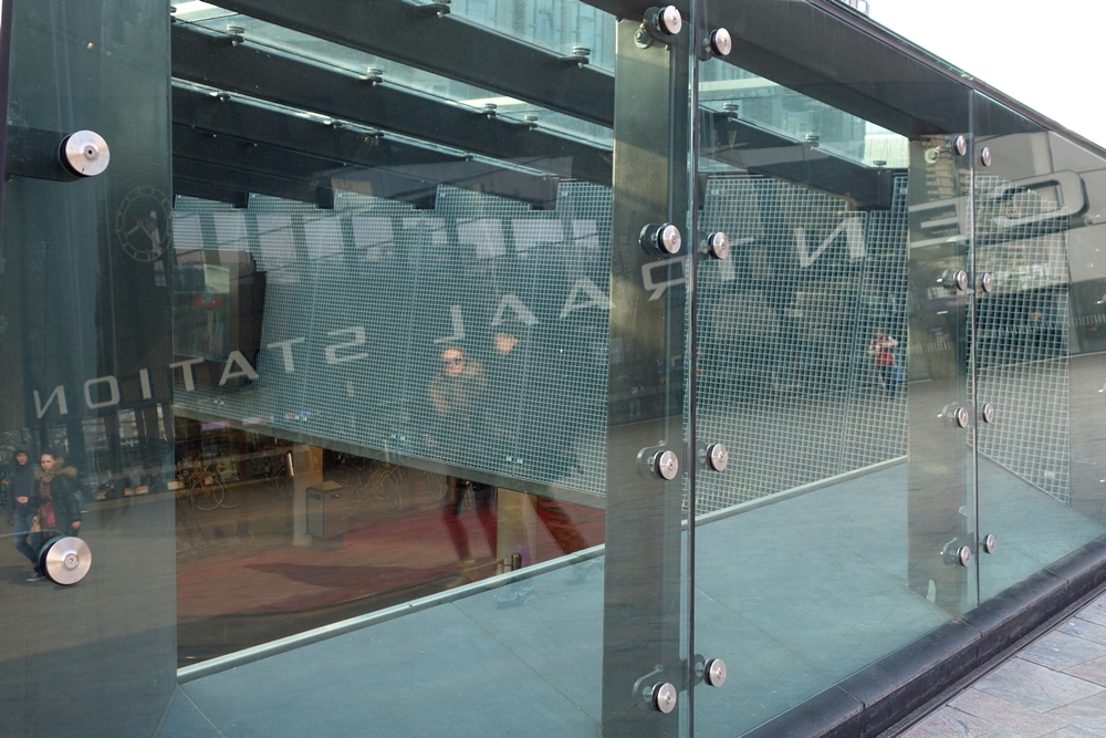 Rotterdam Central Station bicycle parking