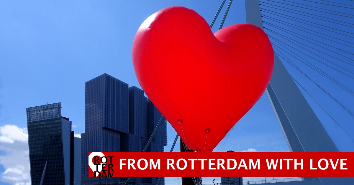 Happy Valentine's Day from Rotterdam