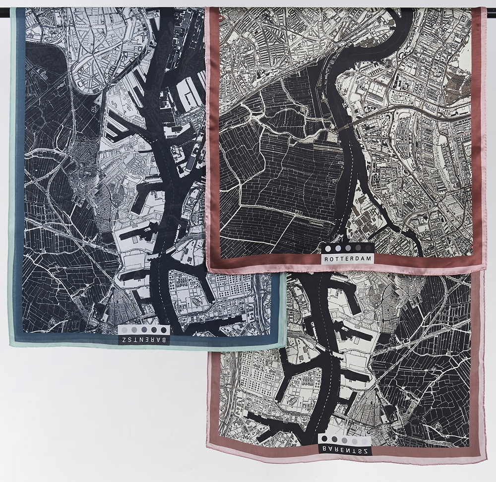 Barentsz Urban Fabric City scarf