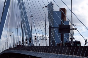 Erasmus Bridge Rotterdam cables