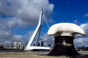 Erasmus Bridge Rotterdam south side