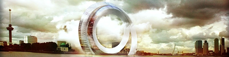 Dutch Windwheel new Rotterdam landmark