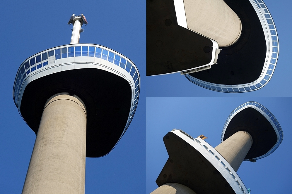 Collage of 4 Euromast pictures