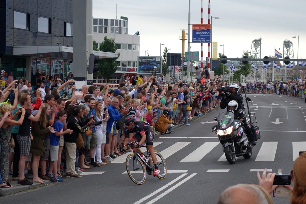Jan Bárta leader of tour in Rotterdam City 2015