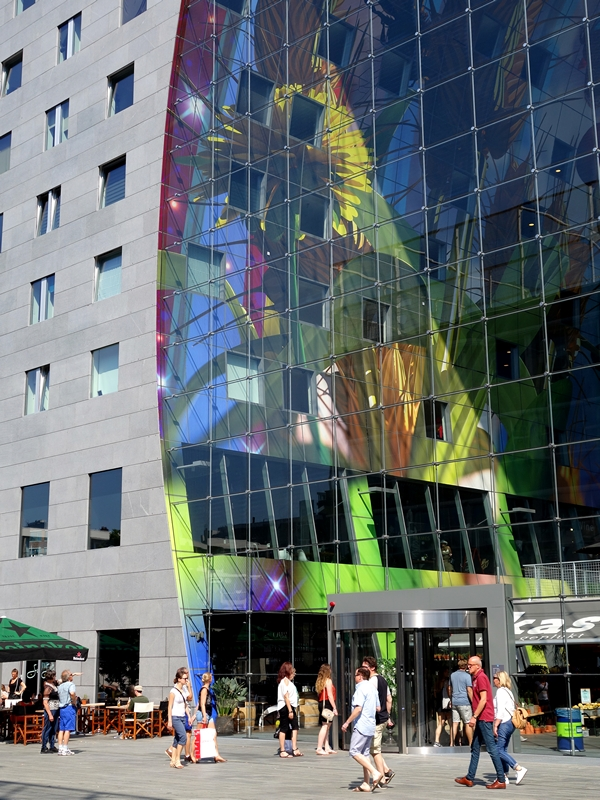 Markthal Rotterdam, according to Lonely Planet an eye popping architecture example