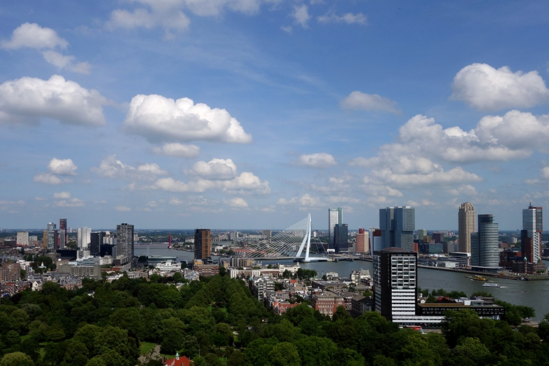 Rotterdam Lonely Planet skyline