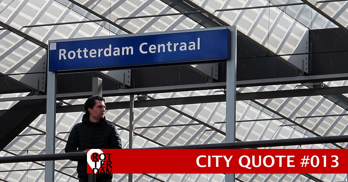 Rotterdam city quote #013