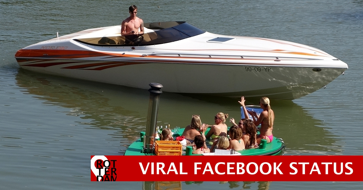 Rotterdam viral video on Facebook