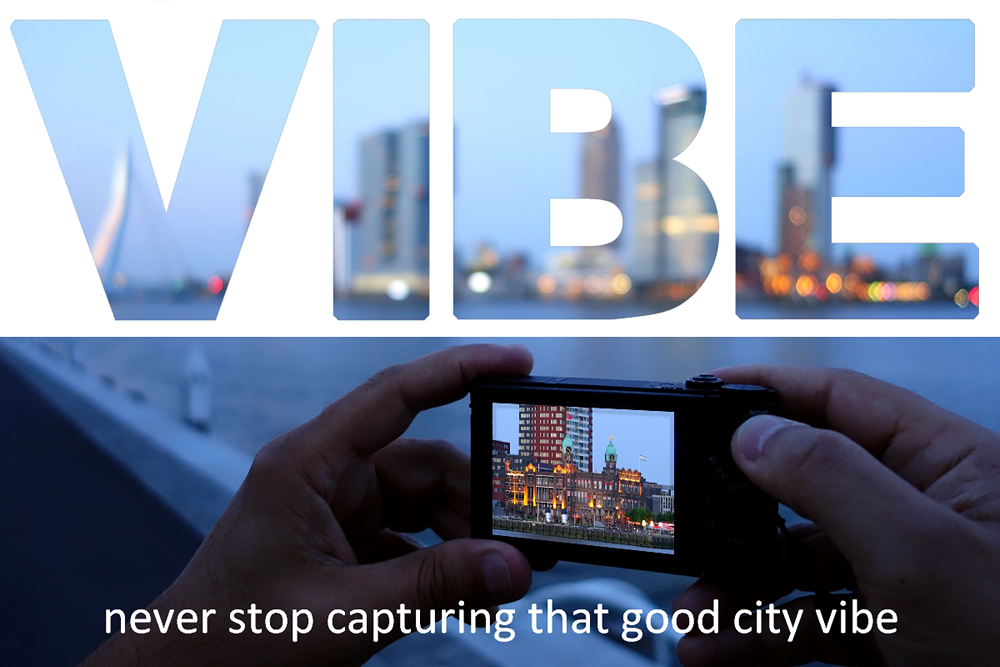 City quote about photographing the Rotterdam vibe