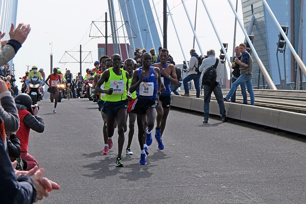 Renowned runners Marathon Rotterdam