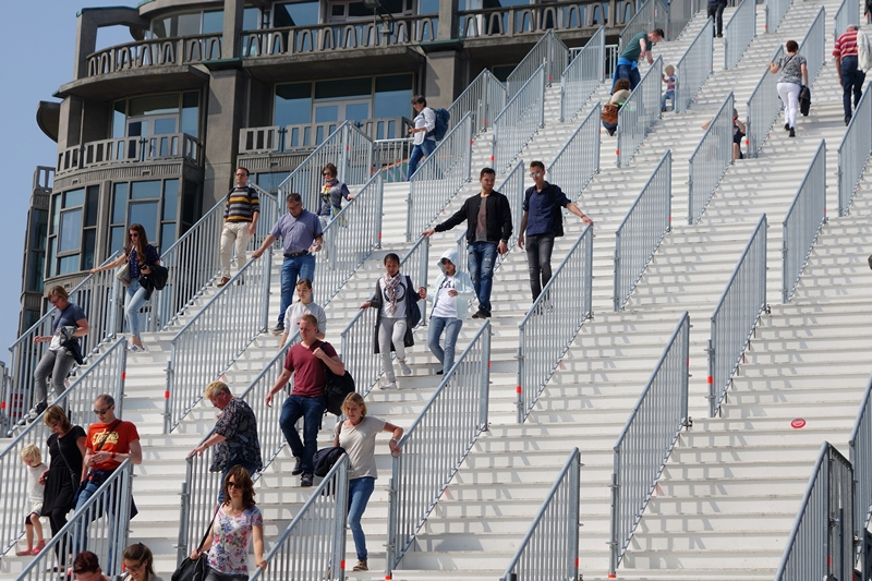 The Stairs Rotterdam 180 steps