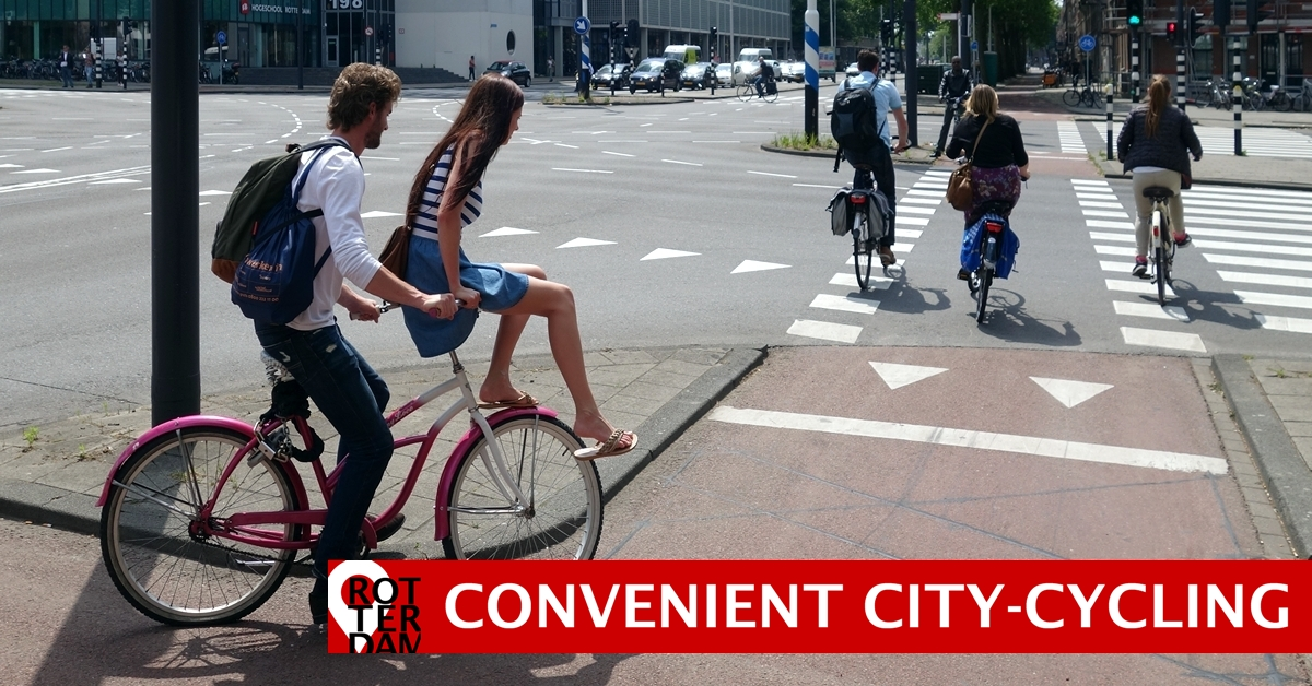 Bike-friendly city Rotterdam