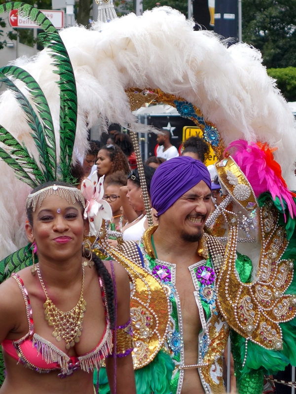 Dancers summer carnival parade